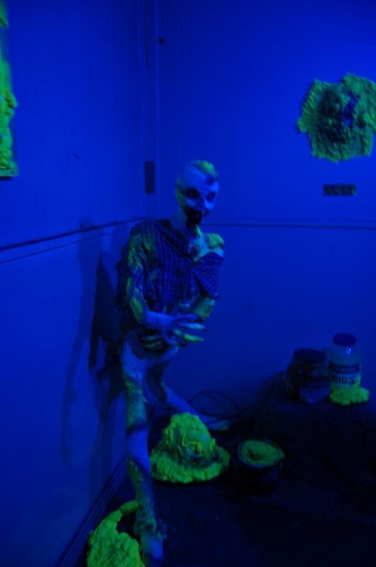Biohazard Scene